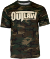 Outlaw Camouflage T-Shirt