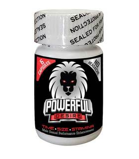 Powerful Desire Powerful Desire Male Enhancement Pills, 6 Capsules