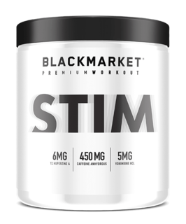 Black Market Labs STIM, 60 Servings