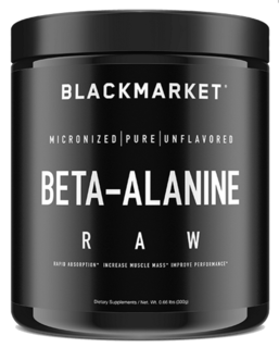Black Market Labs Beta-Alanine Raw, Unflavored Flavor