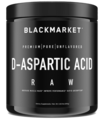 Black Market Labs D-Aspartic Acid Raw, Unflavored Flavor