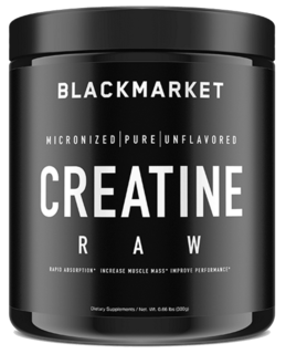 Black Market Labs Creatine RAW, Unflavored Flavor