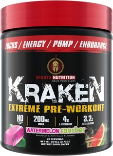 Sparta Nutrition KRAKEN, 20 Servings