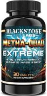 Blackstone Labs Metha-Quad Extreme, 30 Capsules