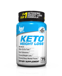 BPI Sports KETO Weight Loss, 75 Capsules