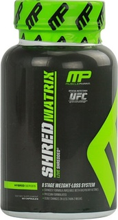 MusclePharm Shred Matrix, 120 Capsules