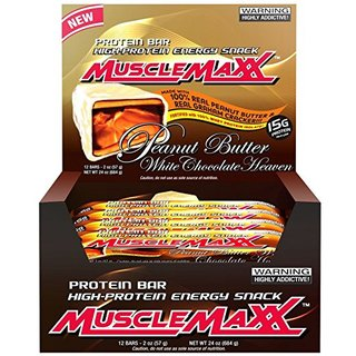 Muscle Maxx Muscle Maxx Protein Bars, 12 Counts