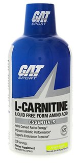 GAT L-CARNITINE, 32 Servings