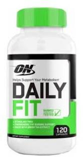 Optimum Nutrition DAILY FIT, 120 Capsules