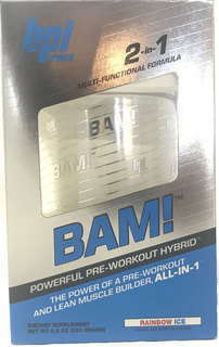 BPI Sports BAM, 25 Servings