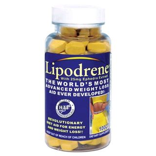 Hi-Tech Pharmaceuticals LIPODRENE with Ephedra, 100 Tablets