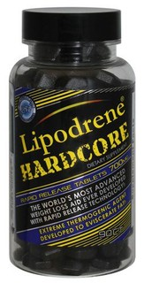 Hi-Tech Pharmaceuticals LIPODRENE HARDCORE, 90 Tablets