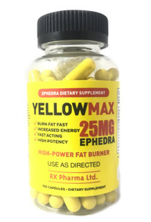 RX Pharma Ltd. YELLOW MAX, 100 Capsules