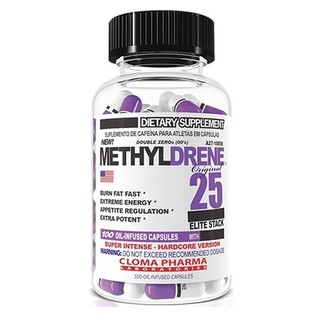 Cloma Pharma Methyldrene Elite, 100 Capsules