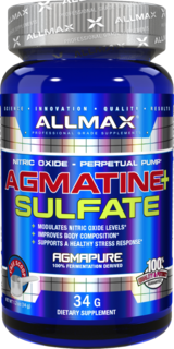 Allmax Nutrition Agmatine + Sulfate, 1.2 Ounces