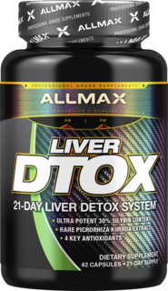 Allmax Nutrition Liver D-Tox, 42 Capsules