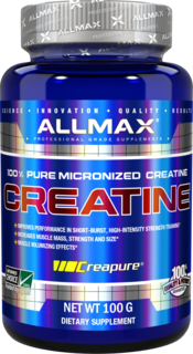 Allmax Nutrition Micronized Creatine Monohydrate, 100 Grams