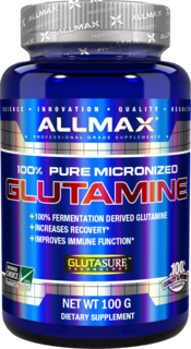 Allmax Nutrition Micronized Glutamine, 100 Grams