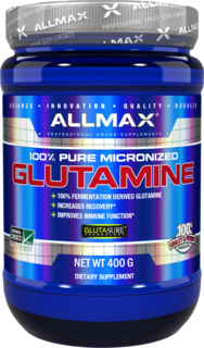 Allmax Nutrition Micronized Glutamine, 400 Grams