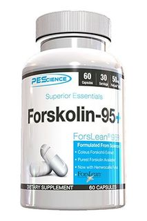PEScience FORSKOLIN 95+, 60 Counts