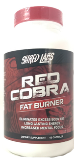 Shred Labs Red Cobra, 45 Counts