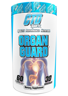 CTD Labs Organ Guard, 60 Capsules