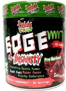 Psycho Pharma Edge of Insanity, 30 Servings
