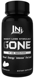 Lecheek Nutrition GONE, 60 Servings