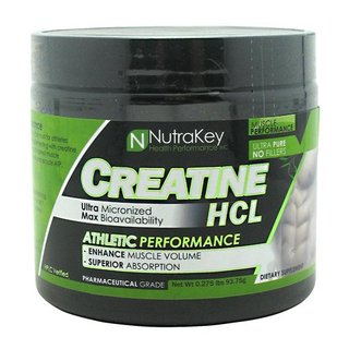 Nutrakey Creatine HCL, 125 Servings