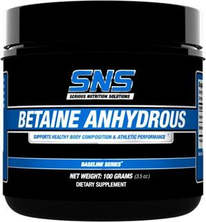 SNS BETAINE ANHYDROUS by SNS, 100 Servings