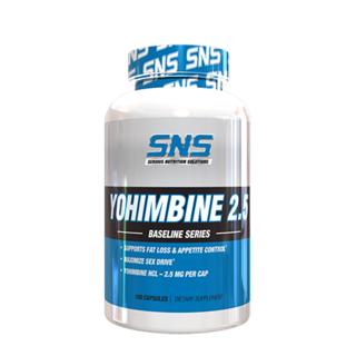 SNS Yohimbine 2.5 by SNS, 100 Capsules