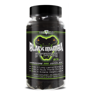 Innovative Laboratories Black Mamba Hyper Rush, 90 Capsules