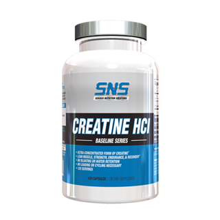 SNS CREATINE HCI, 120 Servings