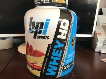 BPI Sports Whey-HD Expires 0319, 4.1 Pounds