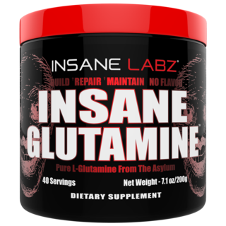 INSANE LABZ INSANE GLUTAMINE, 40 Servings