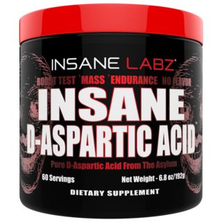 INSANE LABZ INSANE D_ASPARTIC ACID, 60 Servings
