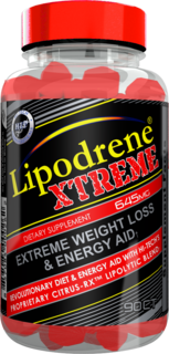 Hi-Tech Pharmaceuticals Lipodrene Xtreme, 90 Tablets