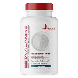 Metabolic Nutrition BETA-ALANINE, 33 Servings