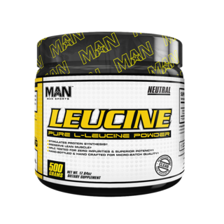 MAN Sports LEUCINE, 100 Servings