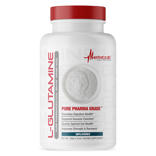 Metabolic Nutrition L-GLUTAMINE, 20 Servings