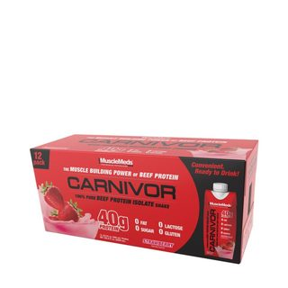Muscle Meds CARNIVOR SHAKE, 12 Servings