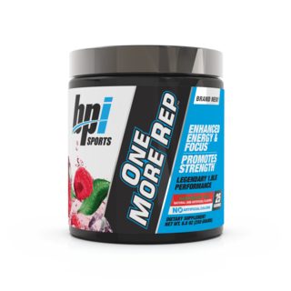BPI Sports ONE MORE REP, 25 Servings