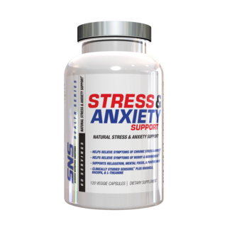 SNS STRESS & ANXIETY SUPPORT, 120 Capsules