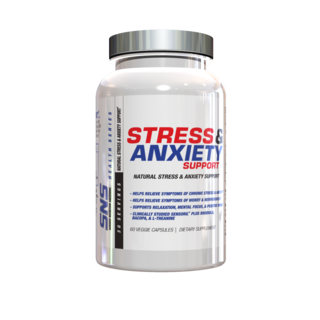 SNS STRESS & ANXIETY SUPPORT, 60 Capsules