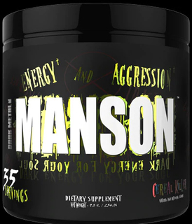 INSANE LABZ DARK METAL MANSON, 35 Servings