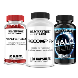 Blackstone Labs Blackstone Myostack, Halo Elite, Recomprx