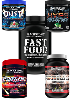 Blackstone Labs Blackstone Fast Food, Dust V2, Hype Reloaded, Resurgence, Formula19