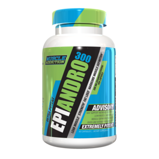 Muscle Addiction EPIANDRO 300, 60 Capsules