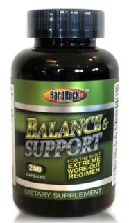 Hard Rock Supplements Balance & Support, 240 Capsules