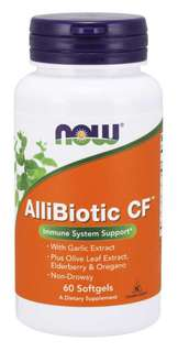 NOW Foods Allibiotic Non-Drowsy CF, 60 Softgels